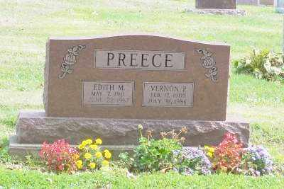 PREECE, EDITH M. - Stark County, Ohio | EDITH M. PREECE - Ohio Gravestone Photos