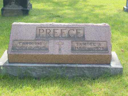 PREECE, SAMUEL A. - Stark County, Ohio | SAMUEL A. PREECE - Ohio Gravestone Photos