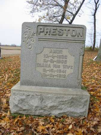 PRESTON, AMOR - Stark County, Ohio | AMOR PRESTON - Ohio Gravestone Photos