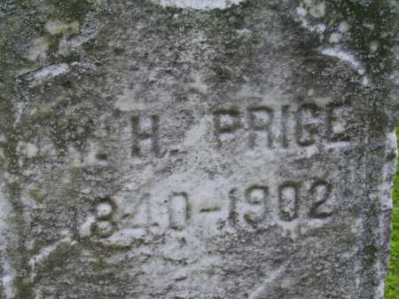 PRICE, W. H. - Stark County, Ohio | W. H. PRICE - Ohio Gravestone Photos