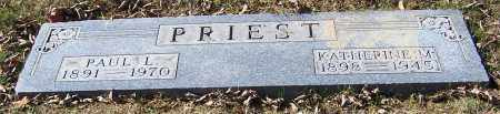PRIEST, KATHERINE M. - Stark County, Ohio | KATHERINE M. PRIEST - Ohio Gravestone Photos