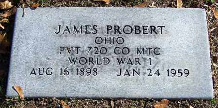 PROBERT, JAMES       (MIL) - Stark County, Ohio | JAMES       (MIL) PROBERT - Ohio Gravestone Photos