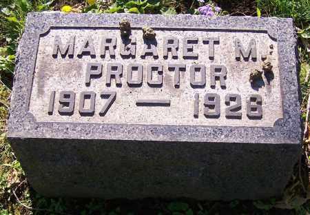 PROCTOR, MARGARET M. - Stark County, Ohio | MARGARET M. PROCTOR - Ohio Gravestone Photos