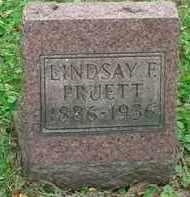 PRUETT, LINDSAY F - Stark County, Ohio | LINDSAY F PRUETT - Ohio Gravestone Photos