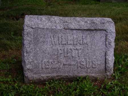PUTT, WILLIAM - Stark County, Ohio | WILLIAM PUTT - Ohio Gravestone Photos