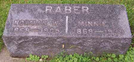 RABER, NORMAN W. - Stark County, Ohio | NORMAN W. RABER - Ohio Gravestone Photos