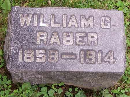 RABER, WILLIAM C. - Stark County, Ohio | WILLIAM C. RABER - Ohio Gravestone Photos