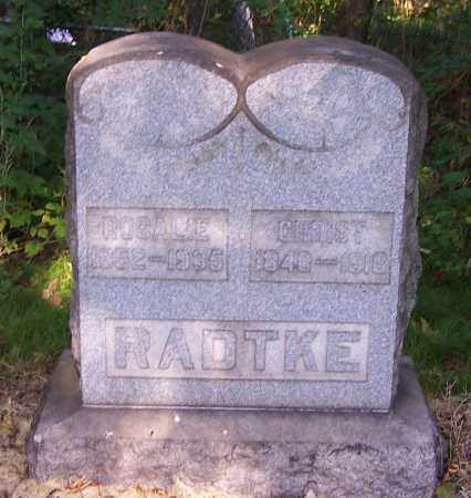 RADTKE, CHRIST - Stark County, Ohio | CHRIST RADTKE - Ohio Gravestone Photos