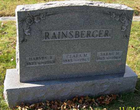 RAINSBERGER, SARAH M. - Stark County, Ohio | SARAH M. RAINSBERGER - Ohio Gravestone Photos