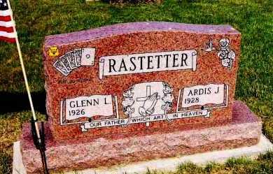 ALING RASTETTER, ARDIS J. - Stark County, Ohio | ARDIS J. ALING RASTETTER - Ohio Gravestone Photos