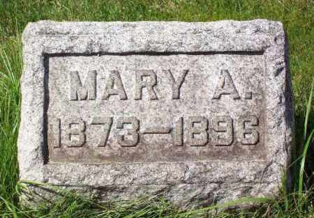 RASTETTER, MARY A. - Stark County, Ohio | MARY A. RASTETTER - Ohio Gravestone Photos