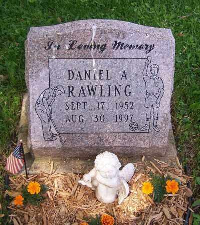 RAWLING, DANIEL A. - Stark County, Ohio | DANIEL A. RAWLING - Ohio Gravestone Photos