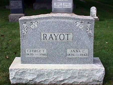 RAYOT, GEORGE F. - Stark County, Ohio | GEORGE F. RAYOT - Ohio Gravestone Photos