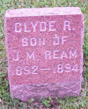 REAM, CLYDE R. - Stark County, Ohio | CLYDE R. REAM - Ohio Gravestone Photos
