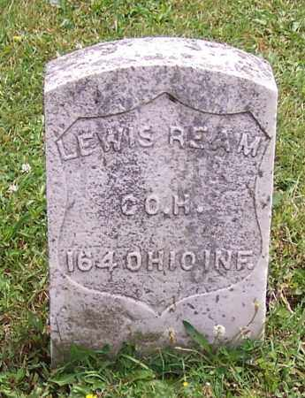 REAM, LEWIS - Stark County, Ohio | LEWIS REAM - Ohio Gravestone Photos