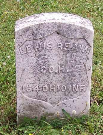 REAM, LEWIS - Stark County, Ohio | LEWIS REAM - Ohio Gravestone Photos