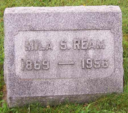 REAM, MILA S. - Stark County, Ohio | MILA S. REAM - Ohio Gravestone Photos