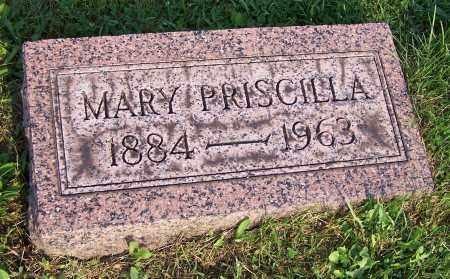REAM, MARY PRISCILLA - Stark County, Ohio | MARY PRISCILLA REAM - Ohio Gravestone Photos