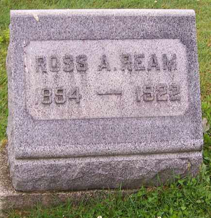 REAM, ROSS A. - Stark County, Ohio | ROSS A. REAM - Ohio Gravestone Photos