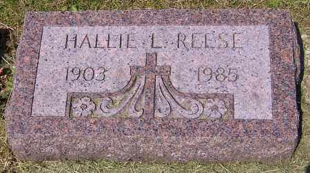 REESE, HALLIE L. - Stark County, Ohio | HALLIE L. REESE - Ohio Gravestone Photos