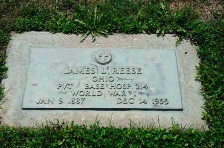 REESE, JAMES L. - Stark County, Ohio | JAMES L. REESE - Ohio Gravestone Photos
