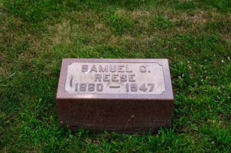 REESE, SAMUEL C. - Stark County, Ohio | SAMUEL C. REESE - Ohio Gravestone Photos