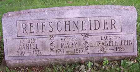 REIFSCHNEIDER, MARY - Stark County, Ohio | MARY REIFSCHNEIDER - Ohio Gravestone Photos