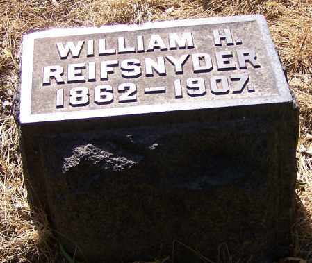 REIFSNYDER, WILLIAM H. - Stark County, Ohio   WILLIAM H. REIFSNYDER - Ohio Gravestone Photos