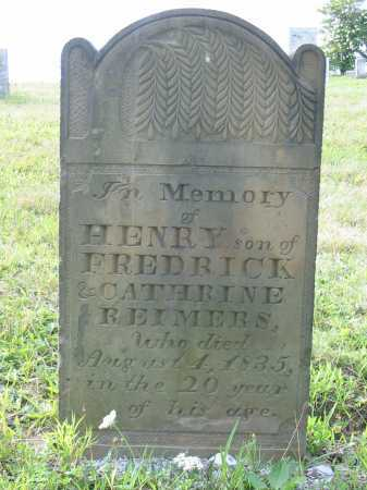REIMERS, HENRY - Stark County, Ohio | HENRY REIMERS - Ohio Gravestone Photos