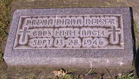 REISER, DRENA DIANN - Stark County, Ohio | DRENA DIANN REISER - Ohio Gravestone Photos