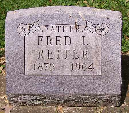 REITER, FRED L. - Stark County, Ohio | FRED L. REITER - Ohio Gravestone Photos