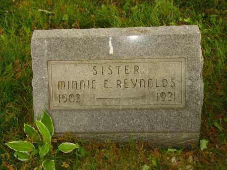 REYNOLDS, MINNIE E. - Stark County, Ohio | MINNIE E. REYNOLDS - Ohio Gravestone Photos