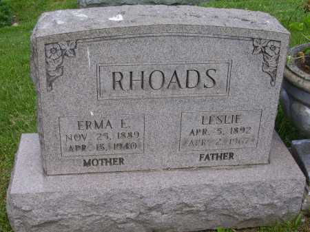 RHOADS, ERMA E. - Stark County, Ohio | ERMA E. RHOADS - Ohio Gravestone Photos