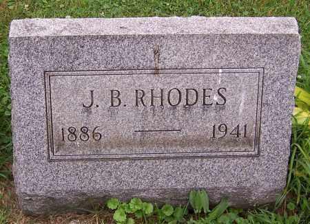 RHODES, J.B. - Stark County, Ohio | J.B. RHODES - Ohio Gravestone Photos