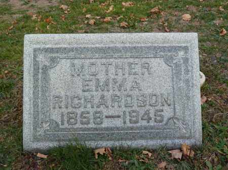 RICHARDSON, EMMA - Stark County, Ohio | EMMA RICHARDSON - Ohio Gravestone Photos
