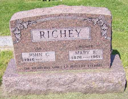 RICHEY, MARY E. - Stark County, Ohio | MARY E. RICHEY - Ohio Gravestone Photos
