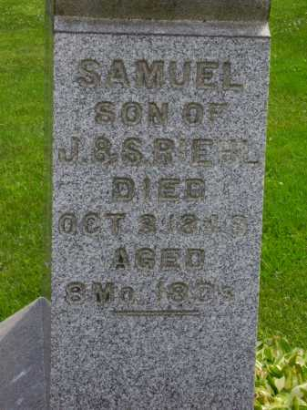 RIEHL, SAMUEL - Stark County, Ohio | SAMUEL RIEHL - Ohio Gravestone Photos