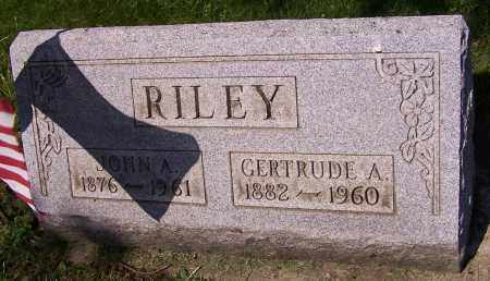 RILEY, GERTRUDE A. - Stark County, Ohio | GERTRUDE A. RILEY - Ohio Gravestone Photos