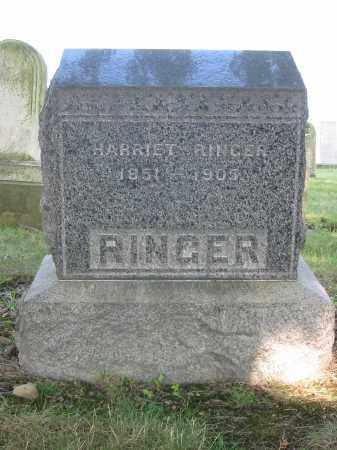 RINGER, HARRIET - Stark County, Ohio | HARRIET RINGER - Ohio Gravestone Photos