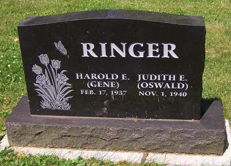 RINGER, JUDITH E. - Stark County, Ohio | JUDITH E. RINGER - Ohio Gravestone Photos