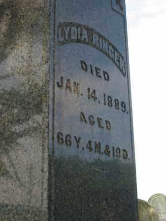 RINGER, LYDIA - Stark County, Ohio | LYDIA RINGER - Ohio Gravestone Photos