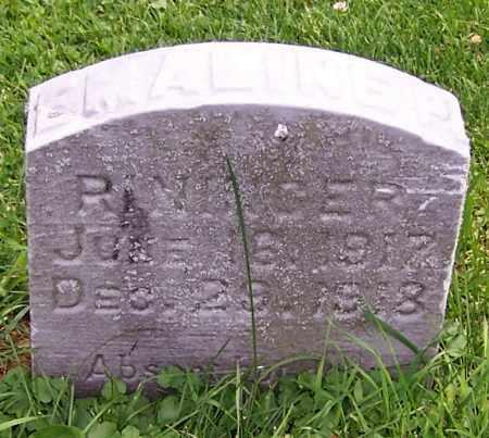 RININGER, EMALINE P. - Stark County, Ohio | EMALINE P. RININGER - Ohio Gravestone Photos