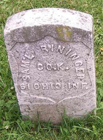 RININGER, SAM L. - Stark County, Ohio | SAM L. RININGER - Ohio Gravestone Photos