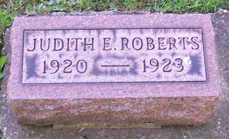 ROBERTS, JUDITH E. - Stark County, Ohio | JUDITH E. ROBERTS - Ohio Gravestone Photos