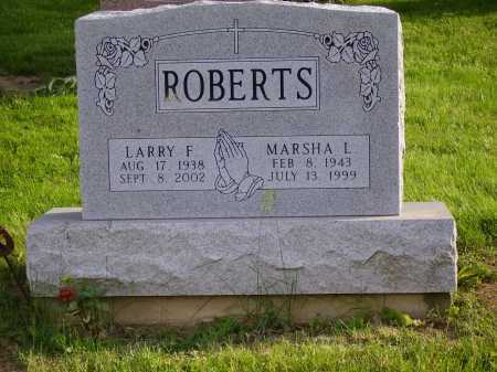 ROBERTS, LARRY F. - Stark County, Ohio | LARRY F. ROBERTS - Ohio Gravestone Photos