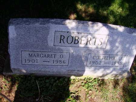 ROBERTS, MARGARET O. - Stark County, Ohio | MARGARET O. ROBERTS - Ohio Gravestone Photos