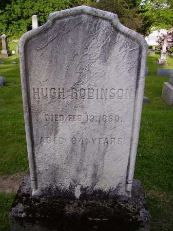 ROBINSON, HUGH - Stark County, Ohio | HUGH ROBINSON - Ohio Gravestone Photos