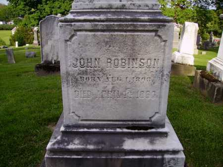 ROBINSON, JOHN - CLOSEVIEW - Stark County, Ohio | JOHN - CLOSEVIEW ROBINSON - Ohio Gravestone Photos