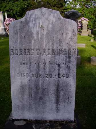 ROBINSON, ROBERT T. - Stark County, Ohio | ROBERT T. ROBINSON - Ohio Gravestone Photos