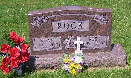 ROCK, STEVE - Stark County, Ohio | STEVE ROCK - Ohio Gravestone Photos